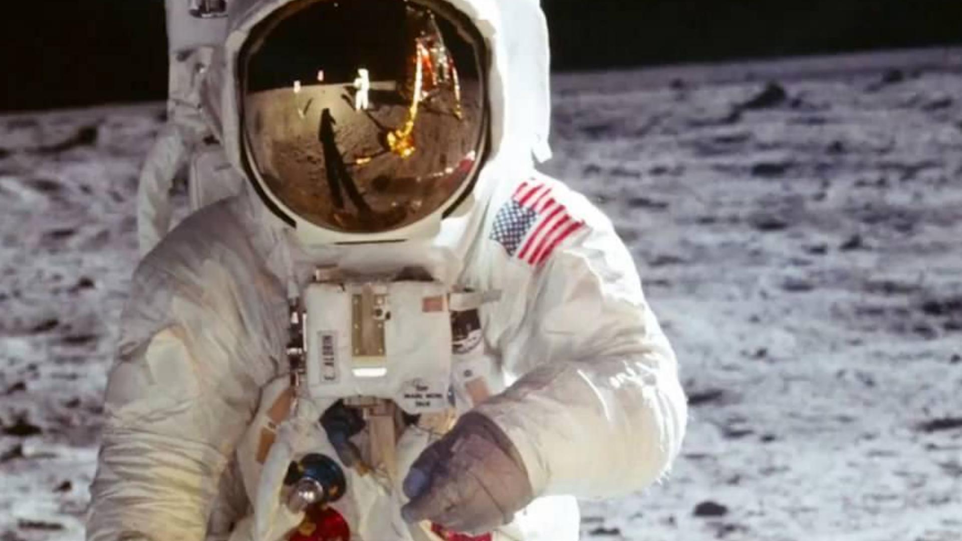 月球上的人:阿波罗11号的声音重新混音