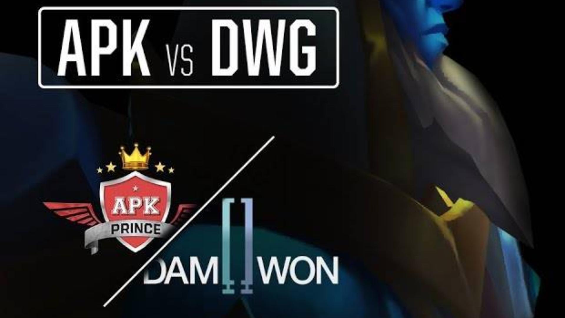 英雄联盟 LCK 2020赛季  APK vs DWG