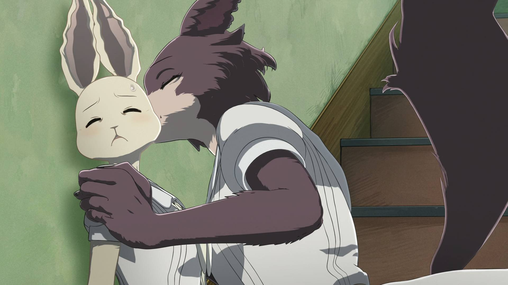 狼和兔子成了情敌,为了争取到公狼的喜欢,母狼费尽心思