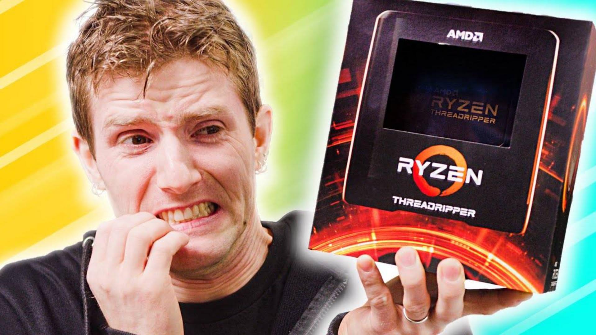 【官方双语】不忍看,但挪不开眼 - 线程撕裂者3990X评测#linus谈科技
