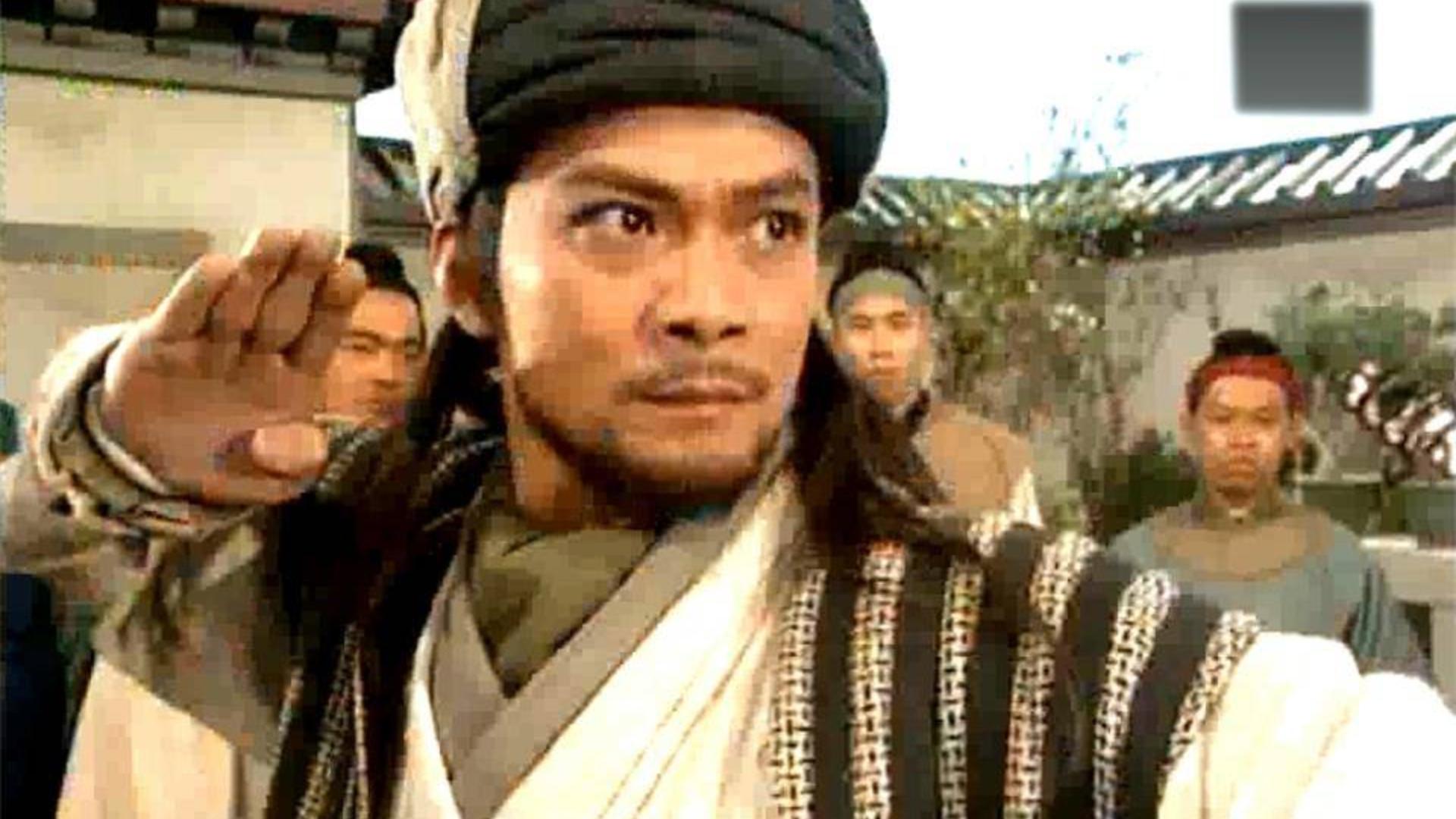 黑衣人神兵天降救走了乔峰,他到底是什么人呢?