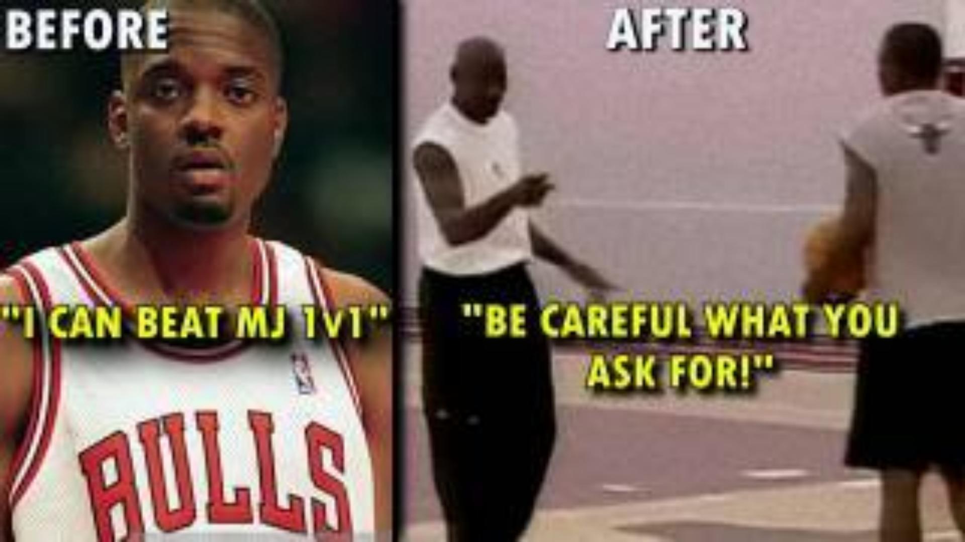 When a RETIRED Michael Jordan DEMOLISHED an Arrog