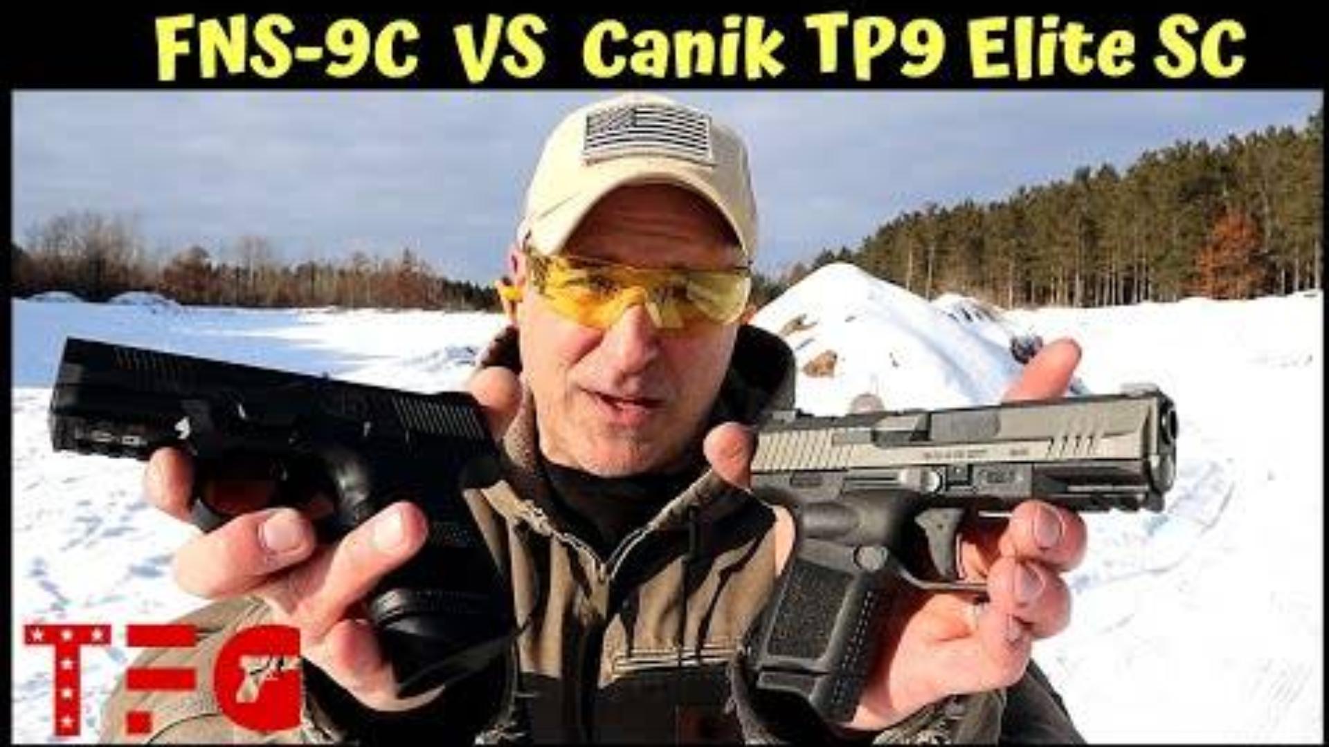 [TheFirearmGuy]FNS 9C vs TP9 Elite手枪