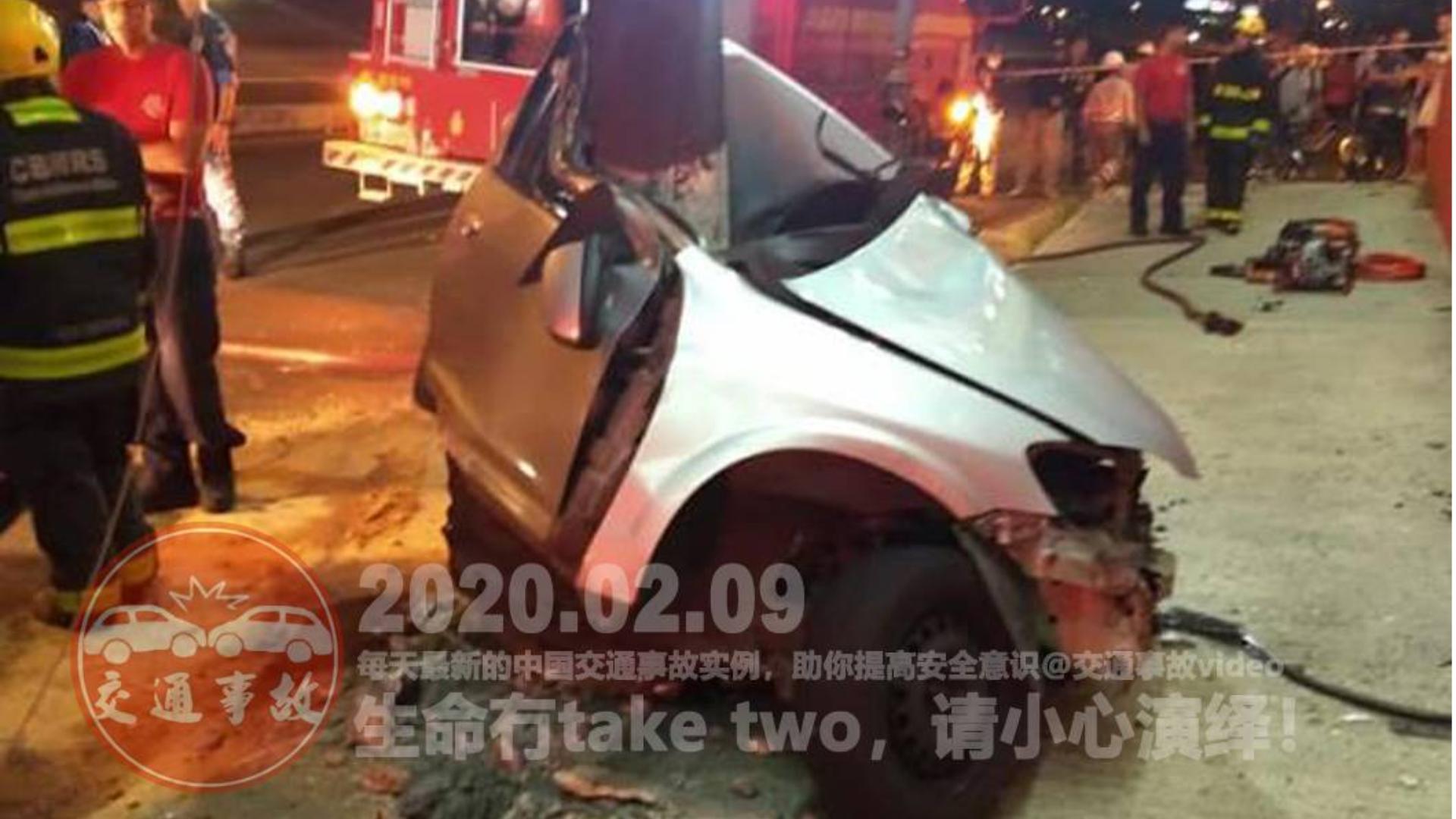 中国交通事故20200209:每天最新的车祸实例,助你提高安全意识