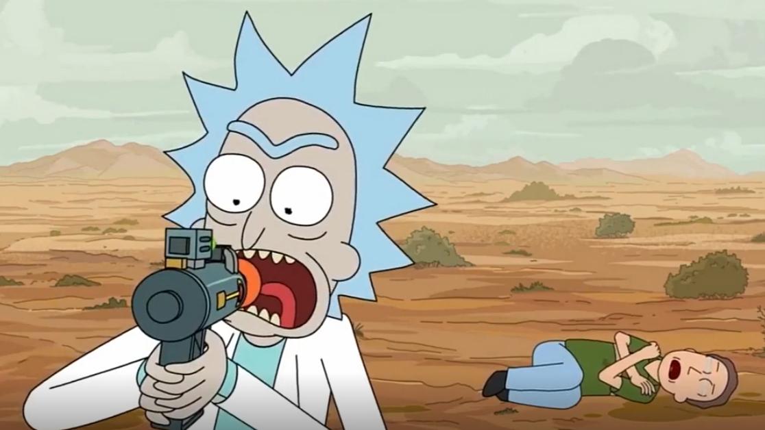 瑞克究竟在会说话的太空猫脑里看到了什么!!!!