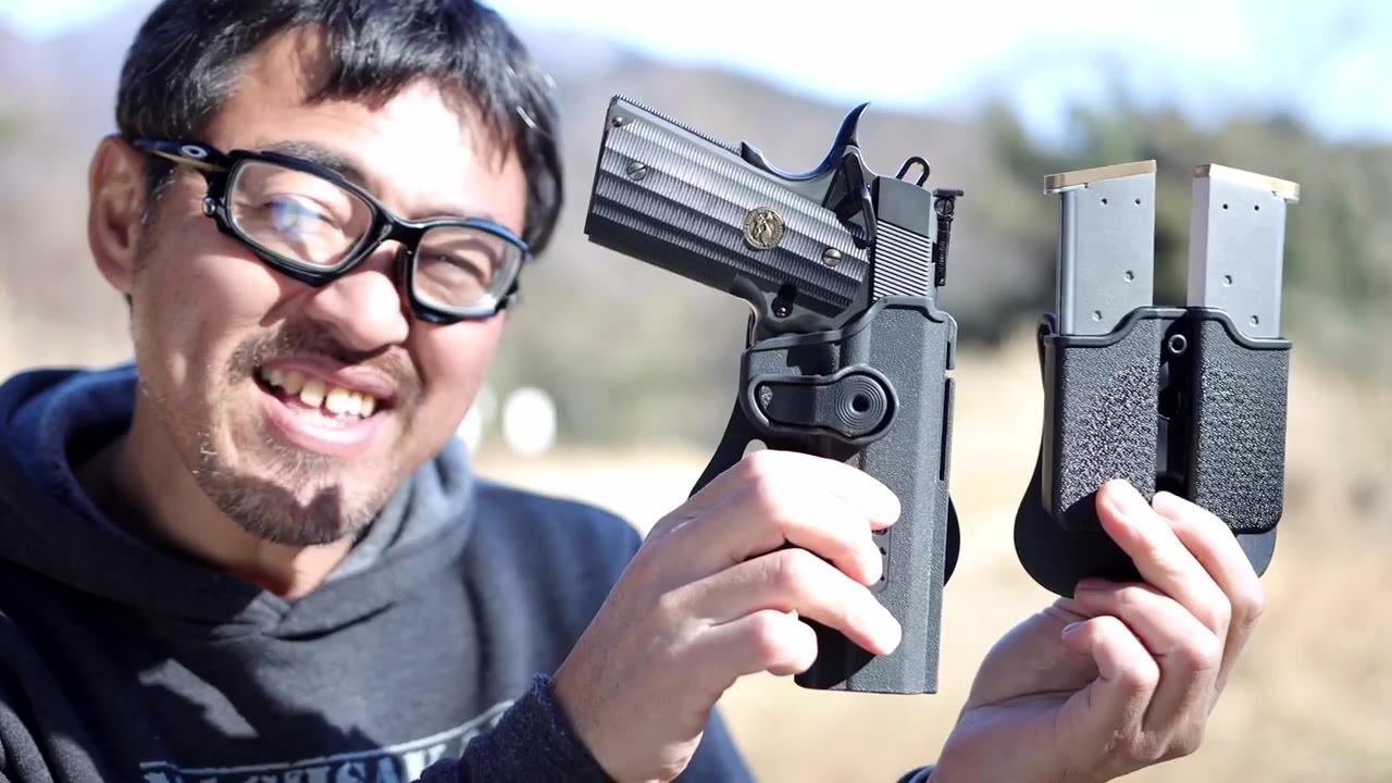 日本壕堺大叔:WA GAVAME HORSTER&杂志包子所先生爱用世田谷基本的空气枪大会要是搞这个