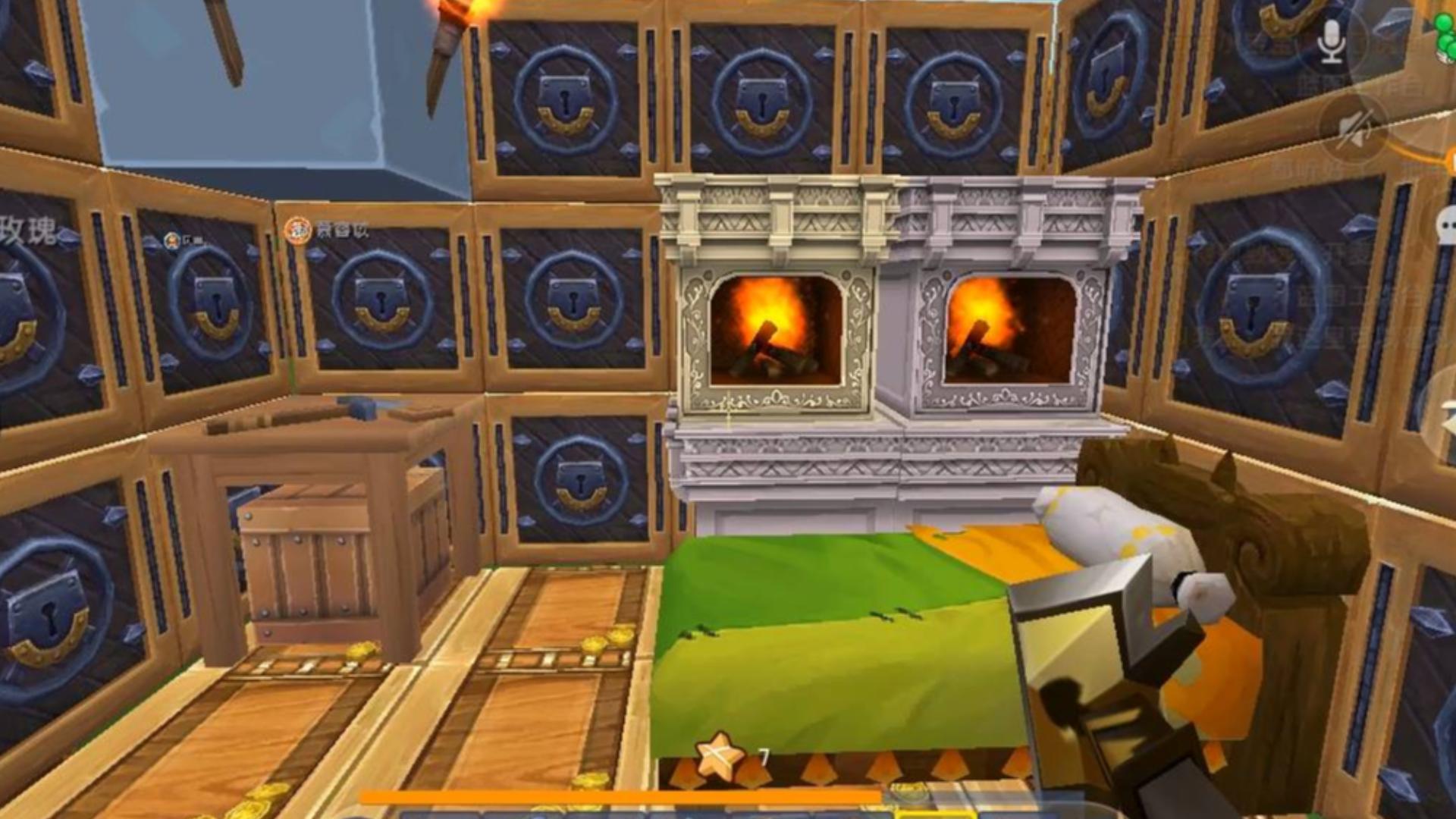 迷你世界:40人混乱生存,小伙伴卡椅子穿墙为了追杀半仙真是绞尽脑汁