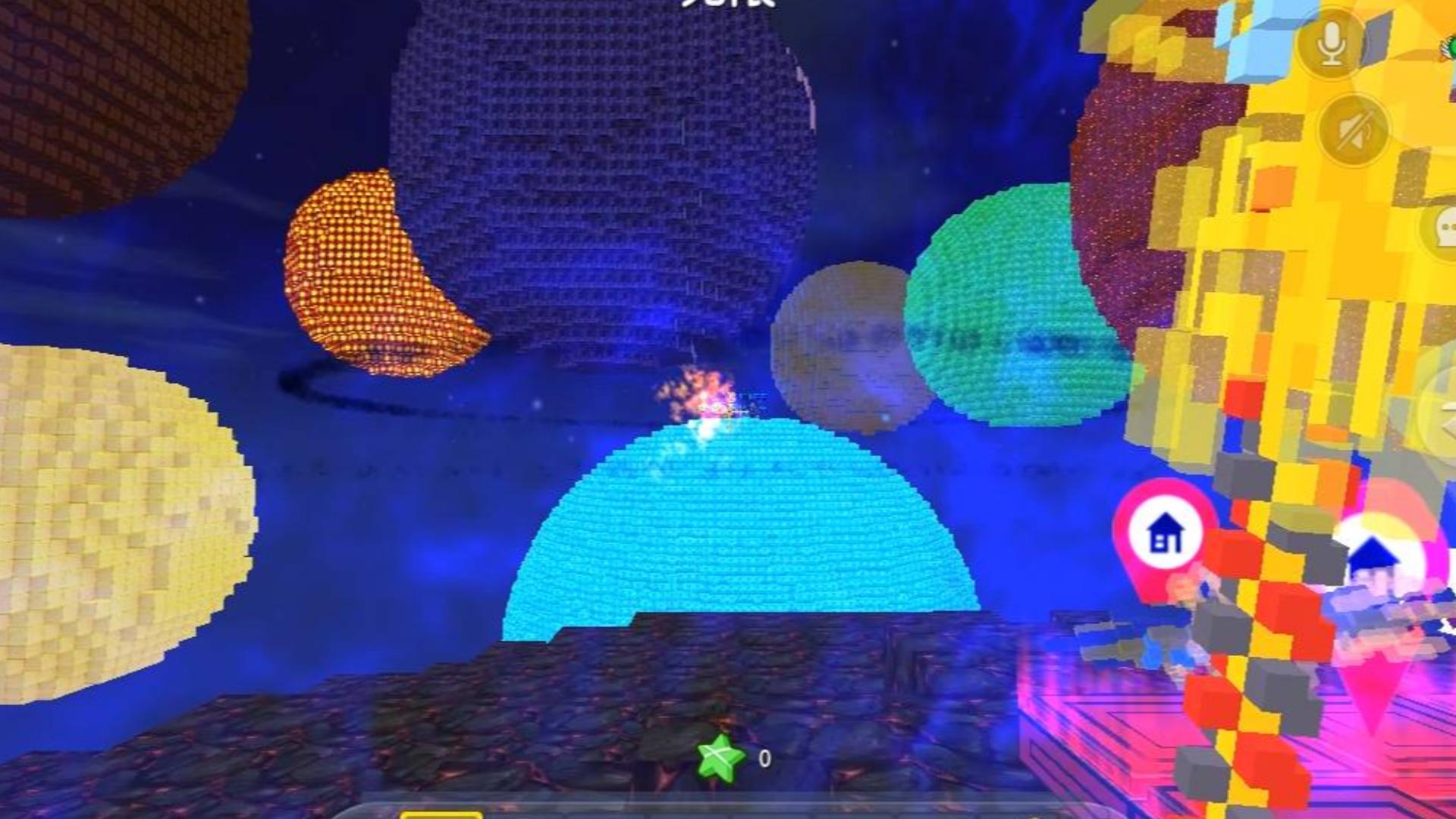 迷你世界:星球大战超级火力,这特效简直就是神仙打架,伙伴又被打投降