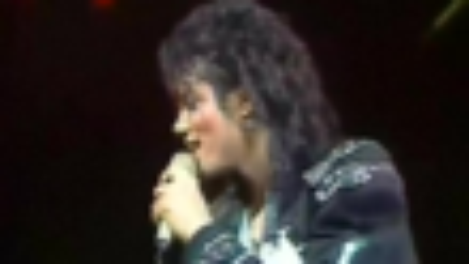 MJ1989年洛杉矶表演现场片段