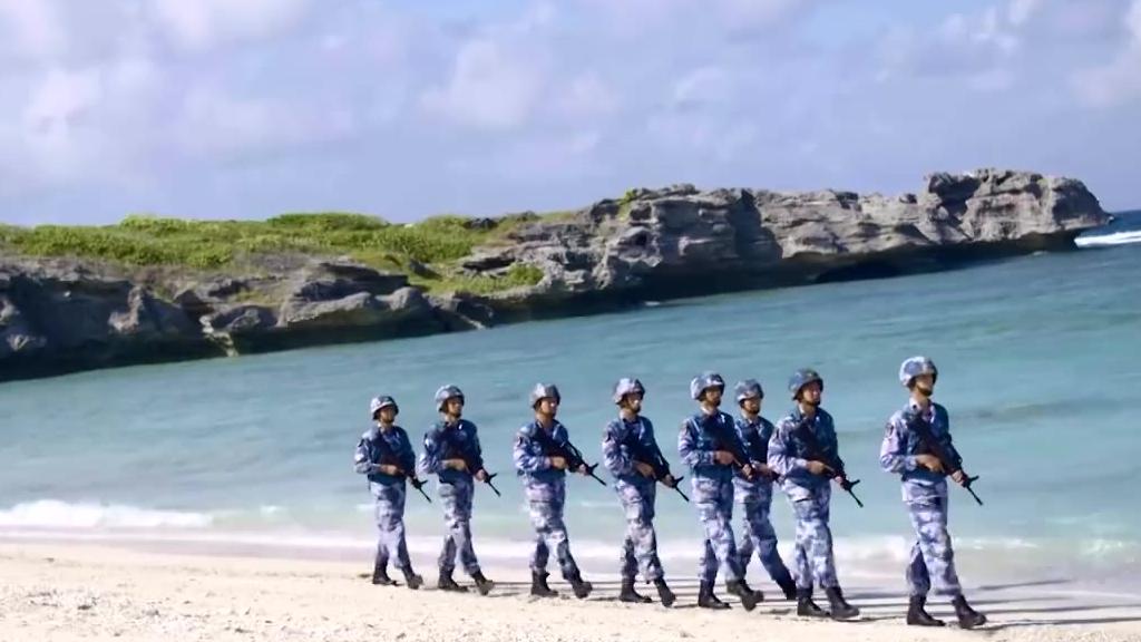 《守海》,这是一部西沙官兵自创的全新MV