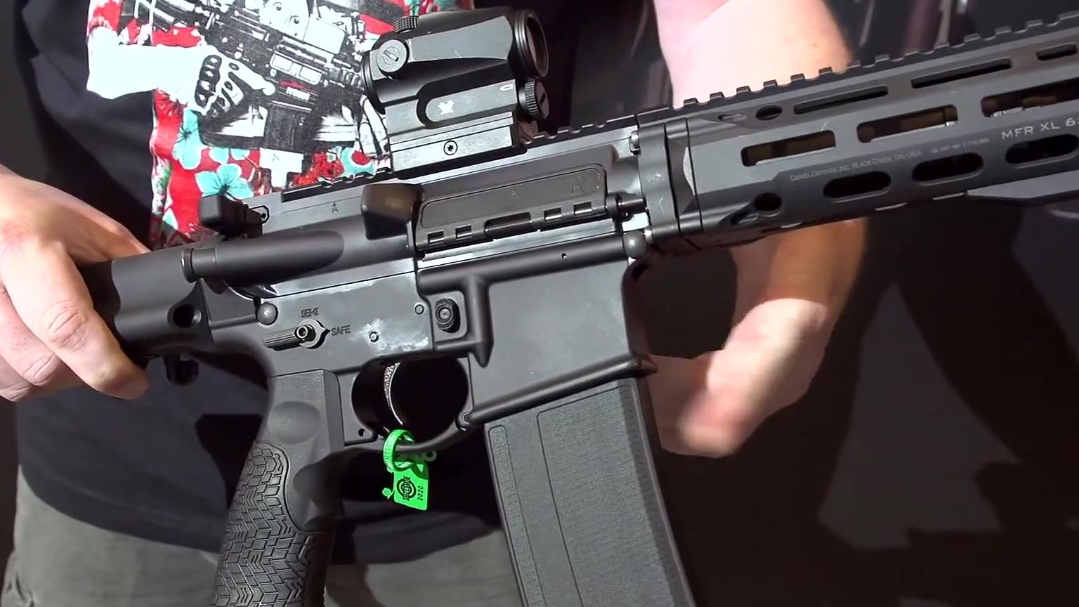 轻武器展览会 丹尼尔防务 最新产品介绍