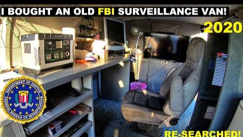 我买了一辆旧的FBI监视货车!2020年再次搜寻!