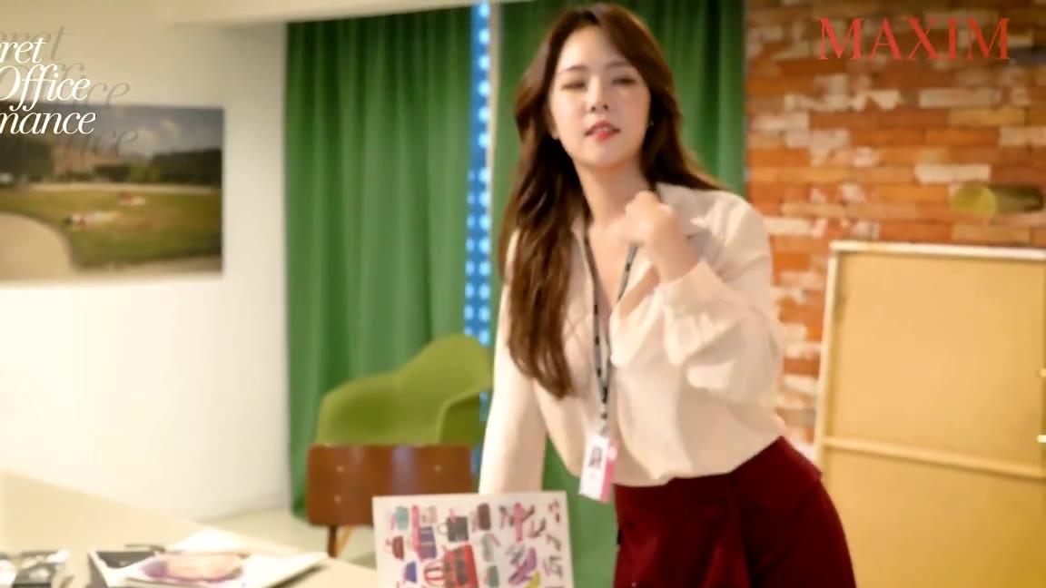 韩国maxim系列,这样的秘书请来一打 -