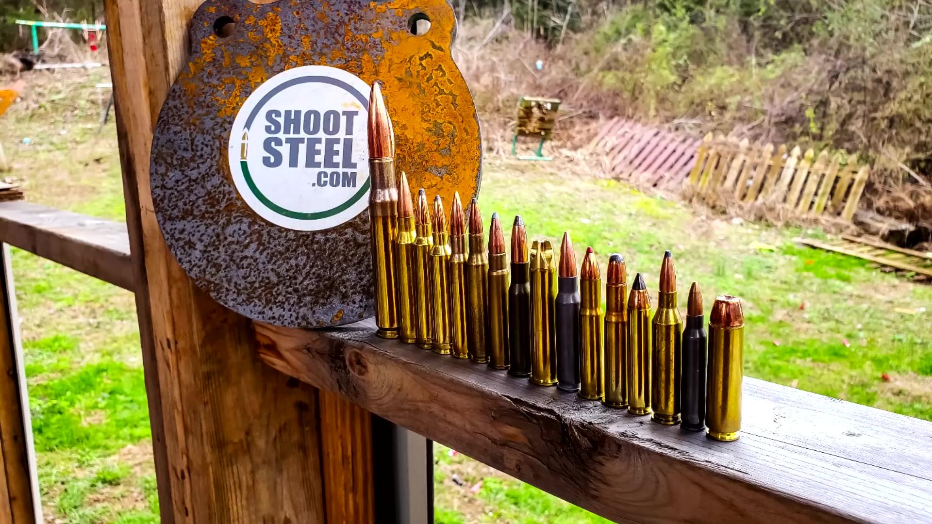 测试哪类子弹可以射穿AR500钢制靶