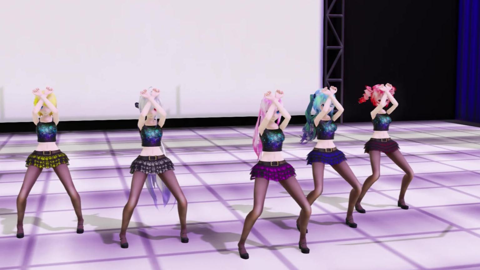 【MMD女团】宝岛舞台