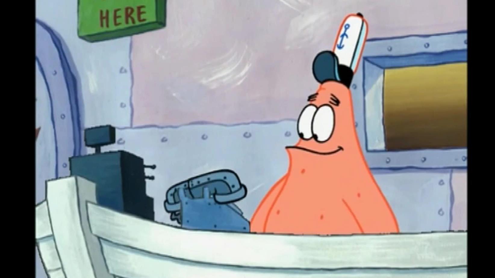 派大星接电话之 鸡你太美