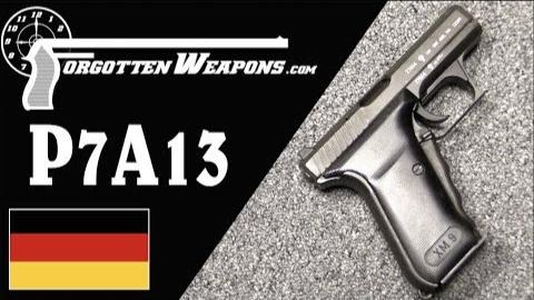 【被遗忘的武器/双语】P7A13--HK参选美军XM9计划之枪