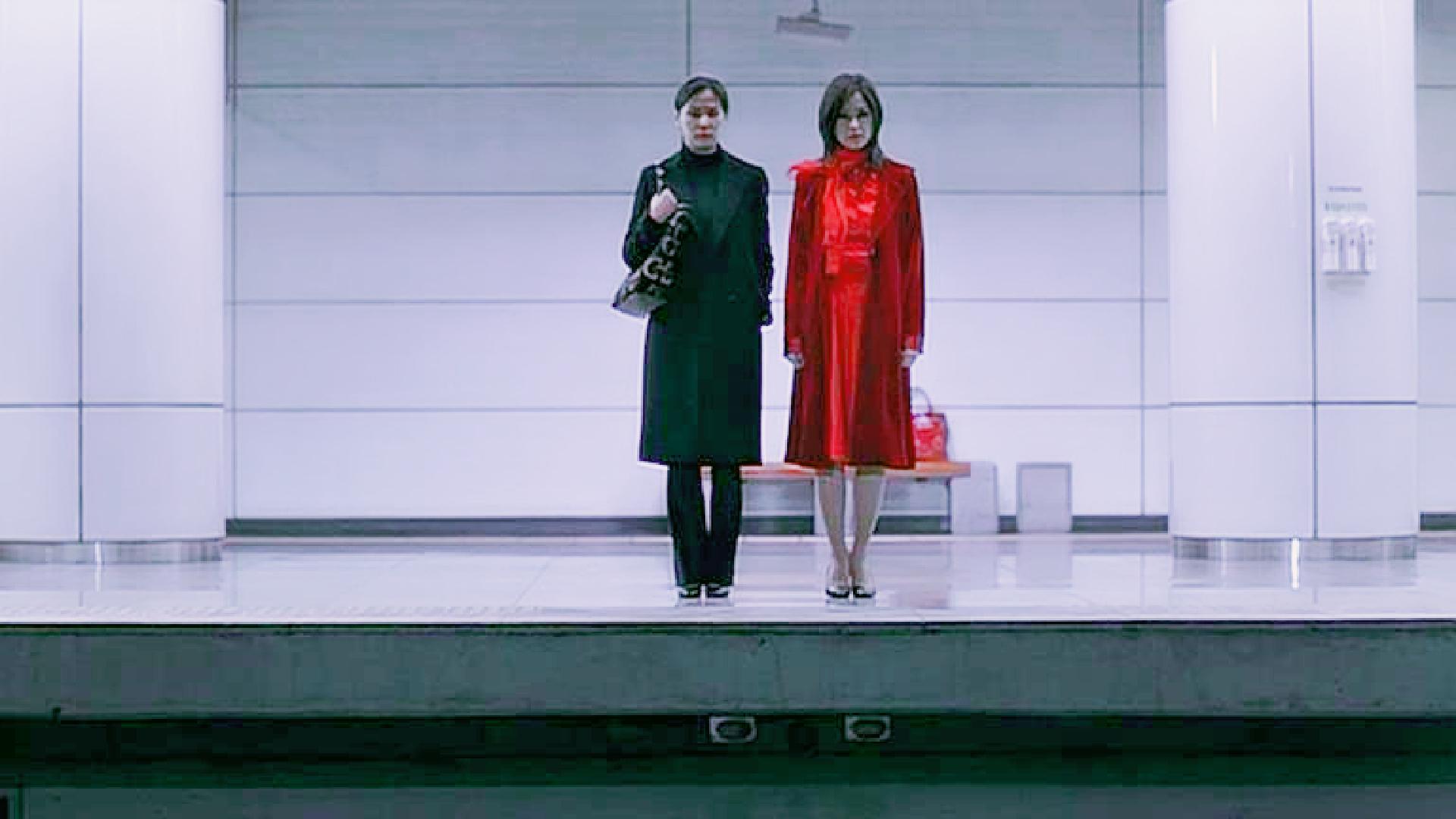 地铁站遇到一个红衣女子,恐怖的事情随即开始了!电影《诡公寓》