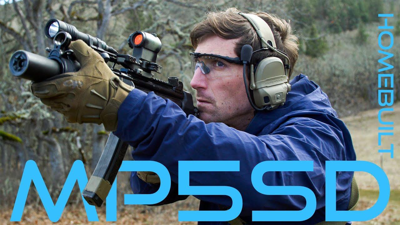 [Garand Thumb]Homebuilt MP5SD w Foster Huntington