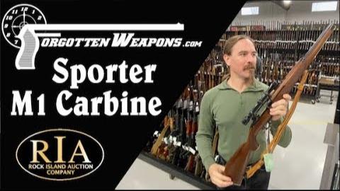 【被遗忘的武器/双语】岩岛拍卖行2020特辑--经过运动化改造的M1卡宾枪
