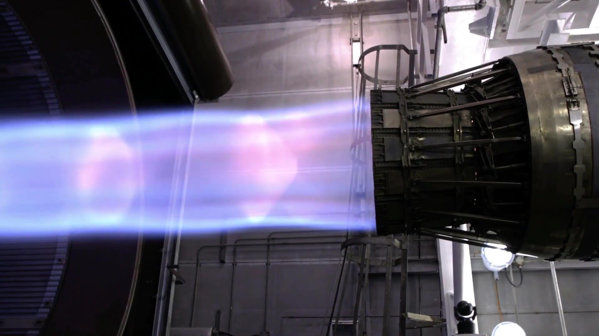 F15加力发动机测试拍摄