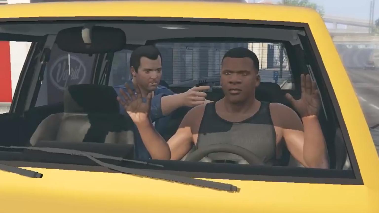 GTA5 当你不按任务剧情来的时候会发生什么