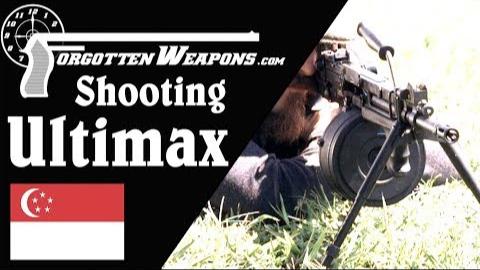 【被遗忘的武器/双语】恒定后坐原理起源--Ultimax Mk3靶场试射