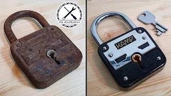 【翻新系列】翻新生锈的铁锁