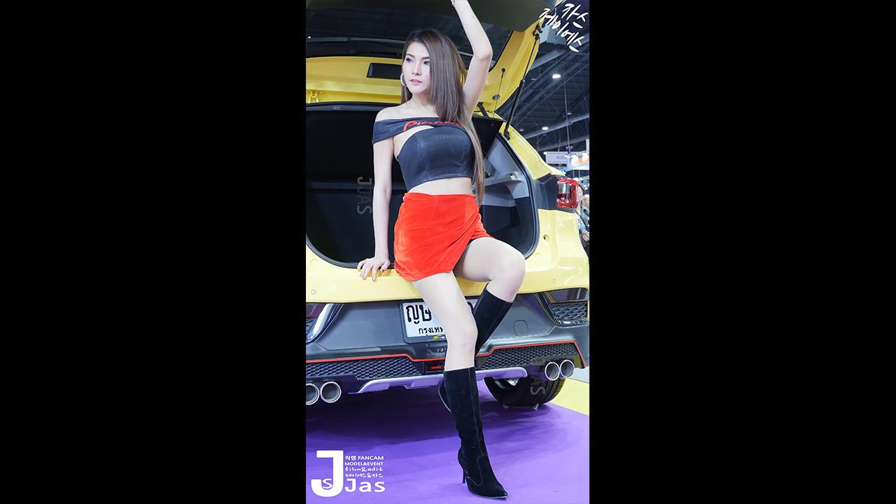 2019 泰国国际汽车展 模特