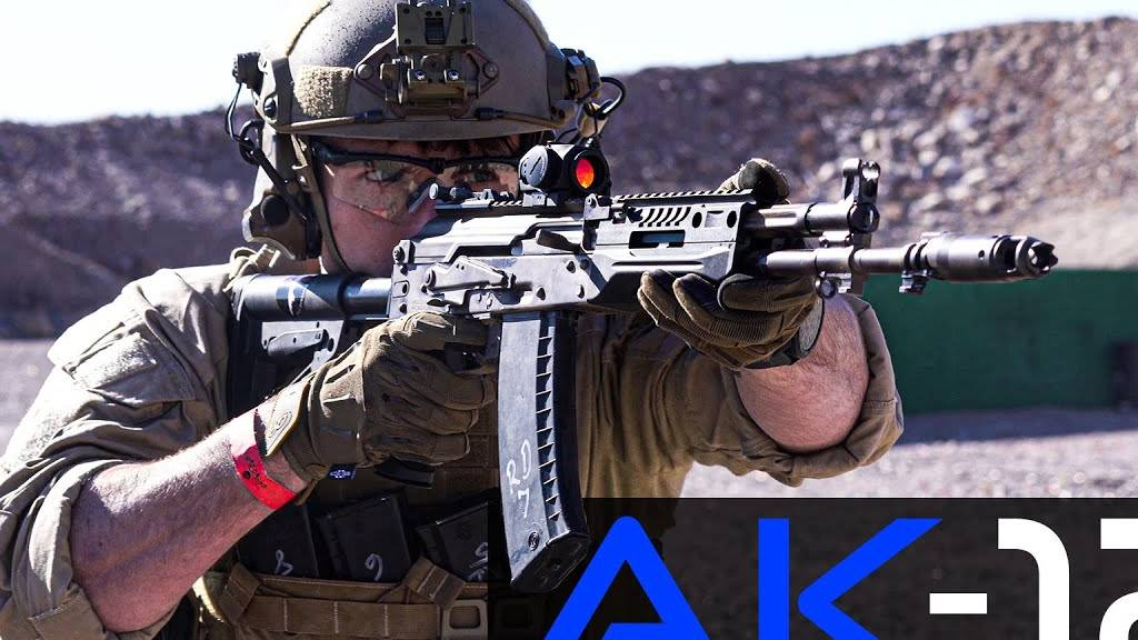 俄罗斯的AK-12突击步枪