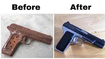 【翻新系列】翻新修复报废的托卡列夫 tt 33 手枪