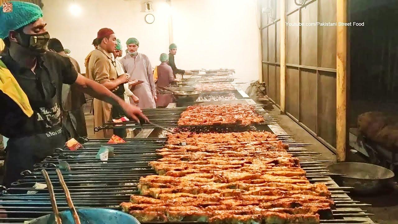 【巴基斯坦街头美食】 - 炸鱼--烧鱼