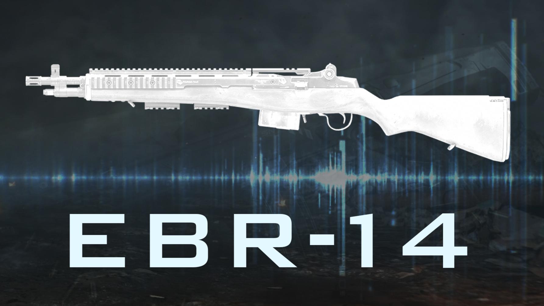 EBR-14 精确射手步枪『现代战争武器指南』VOL.10