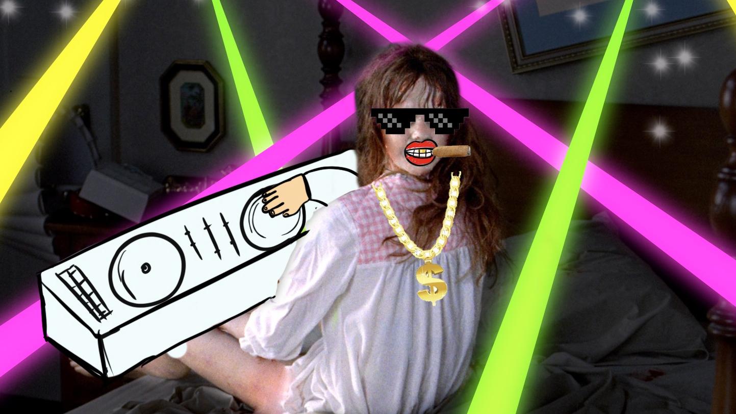 【瓜皮酱】爆笑解说《驱魔人》,史上最摇滚恶魔,附身沙雕女孩疯狂土嗨!
