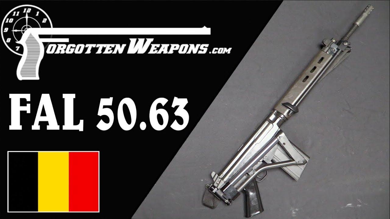 【被遗忘的武器/双语】伞兵装备的折叠托FAL 50.63