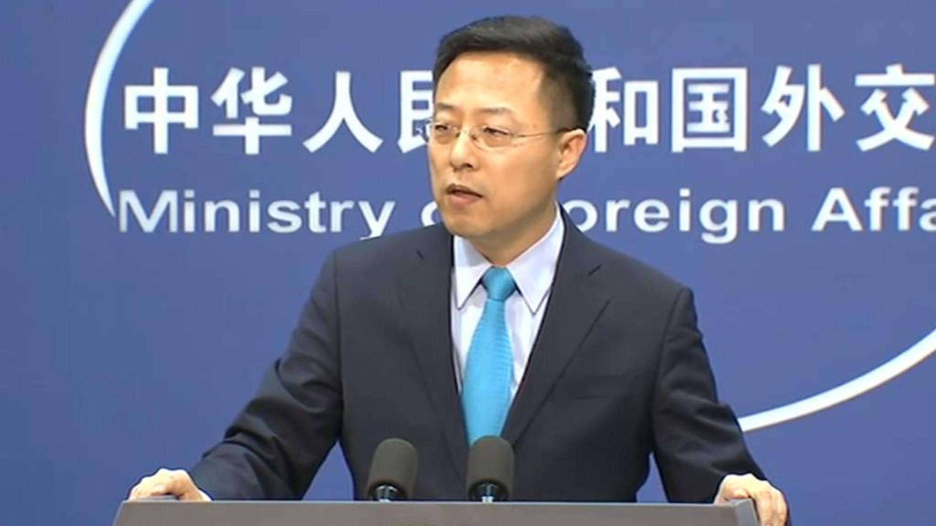 外交部新任发言人赵立坚:《华尔街日报》有骂人的嚣张,为什么没有道歉的勇气?