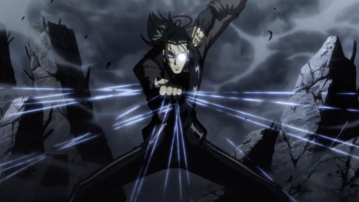 死神对决吸血鬼王,本以为掌控全局,结果反被打回少年