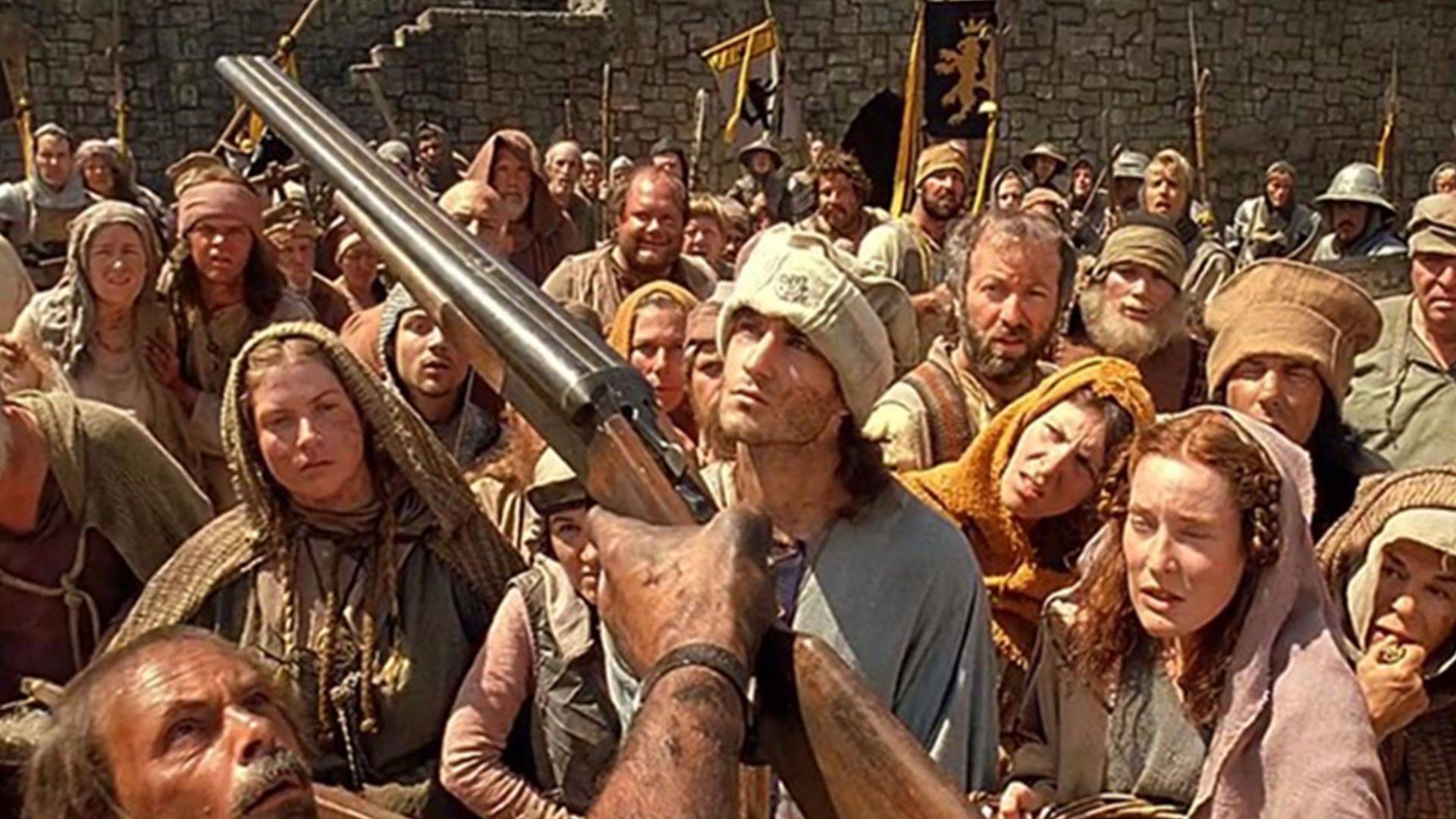 小伙带了一把双管猎枪回到古代,镇住了所有人,开始为所欲为!