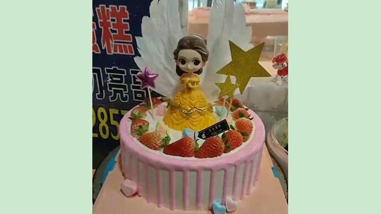 给你插上梦想的翅膀,让你飞的更高更远-梦想天使公主蛋糕