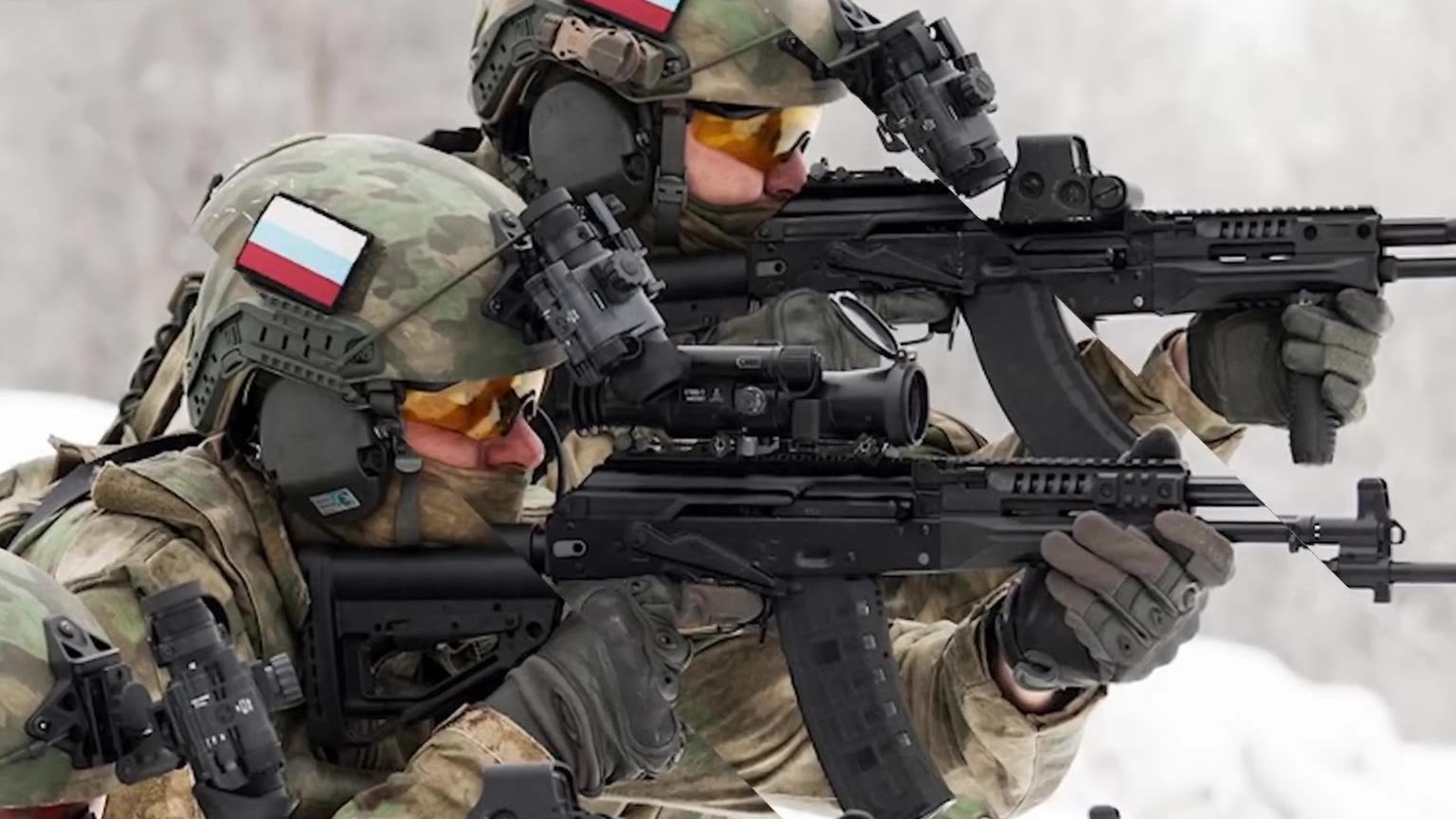 俄罗斯AK-12突击步枪宣传视频