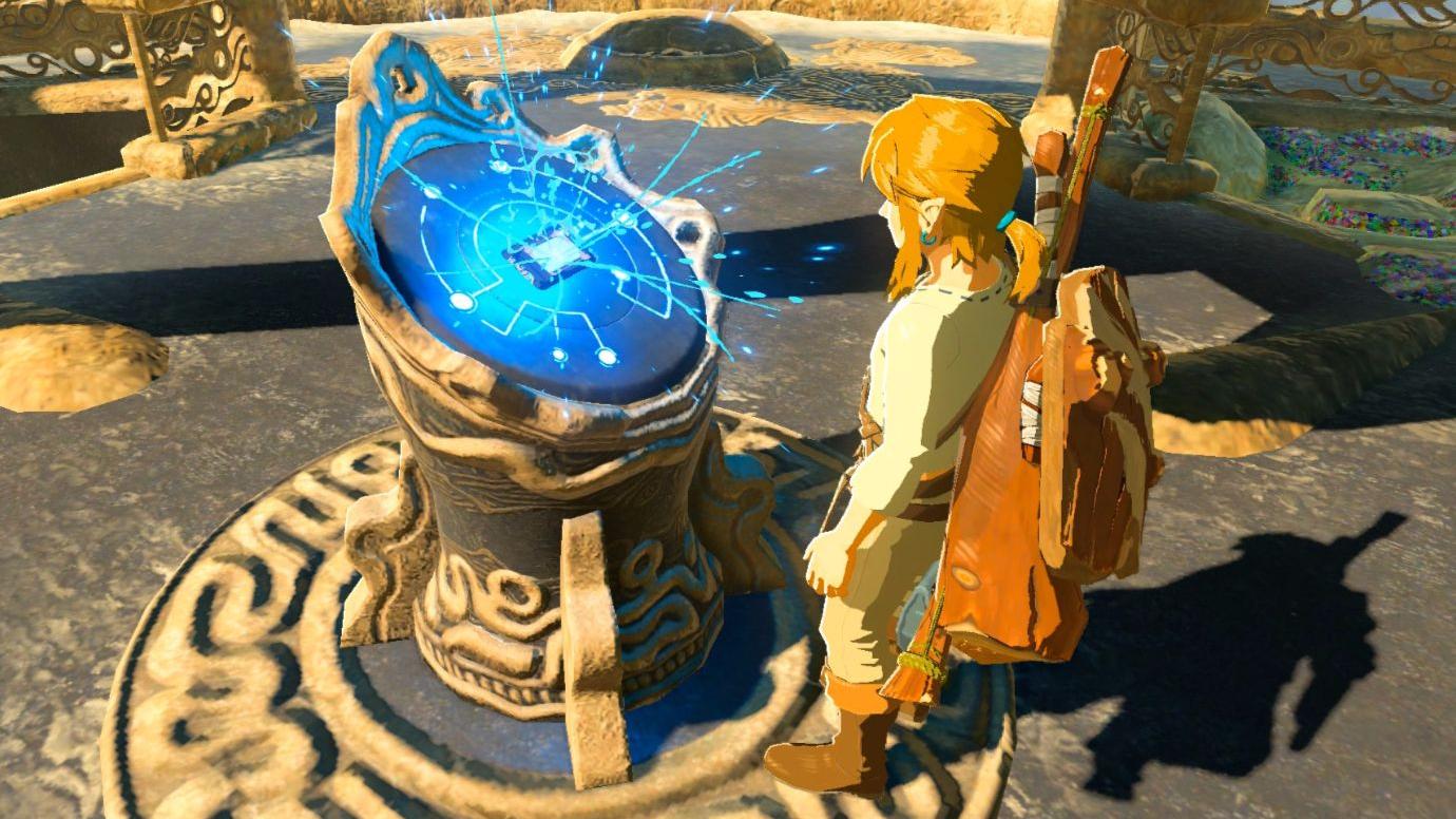 旷野之息:02-激活神秘高塔俯瞰整个大高原,勇闯圣祠获得第一个磁力超能力