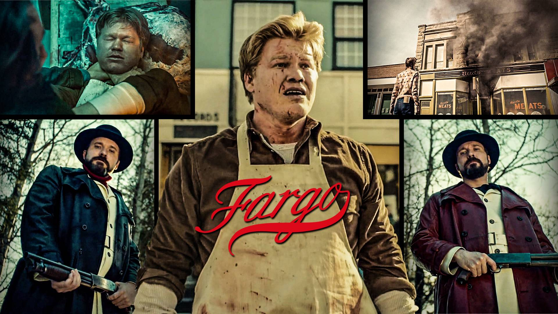 【墨菲】《冰血暴》第二季5期:卢文屠夫惨遭暗杀,格哈特家族大开杀戒