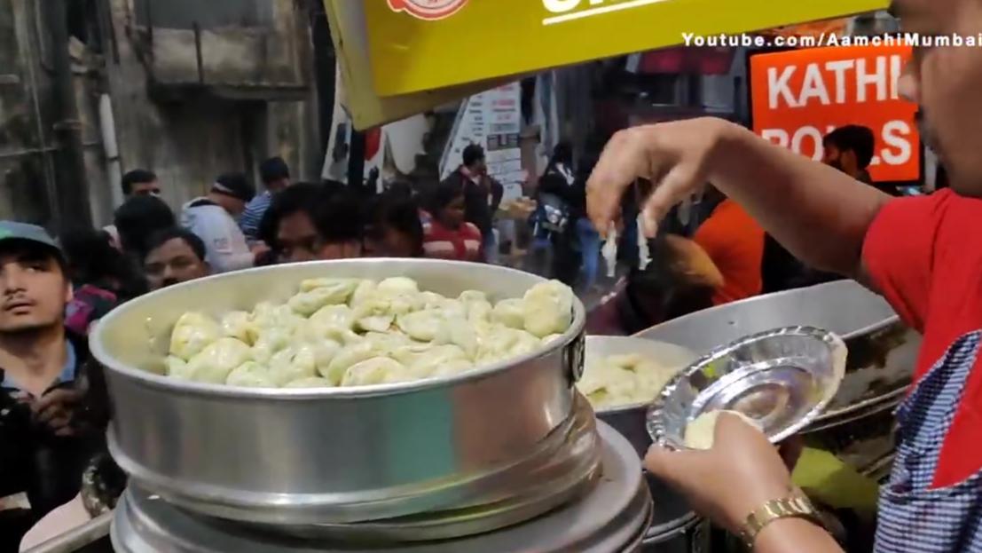 【印度小吃】人们为了肉馅馍馍而疯狂 卓玛阿姨的肉馅馍馍