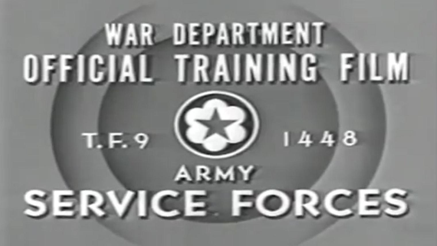 美國二戰輕武器教學記錄片