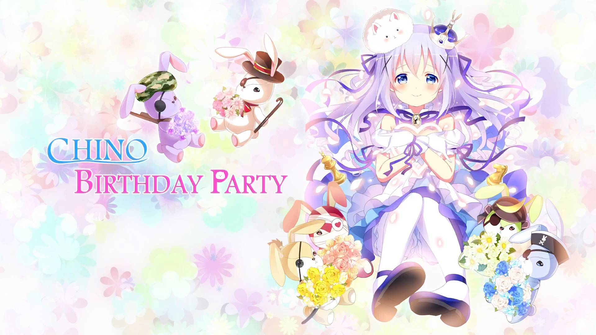 【请问您今天要来点兔子吗??】CHINO BIRTHDAY PARTY(生肉)
