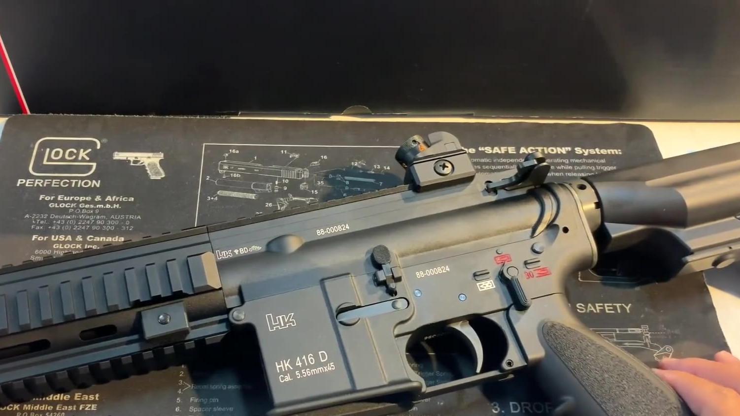 台湾省 VFC HK416D  新版介绍