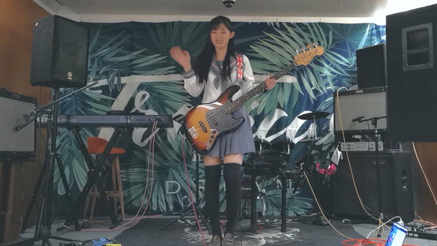 【阿琴】一人乐队!吉他贝斯架子鼓 轻音少女插曲わたしの恋はホッチキス(订书机之恋) cover