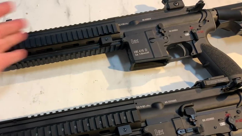 台湾省 VFC HK416D VS 416A5 有何不同
