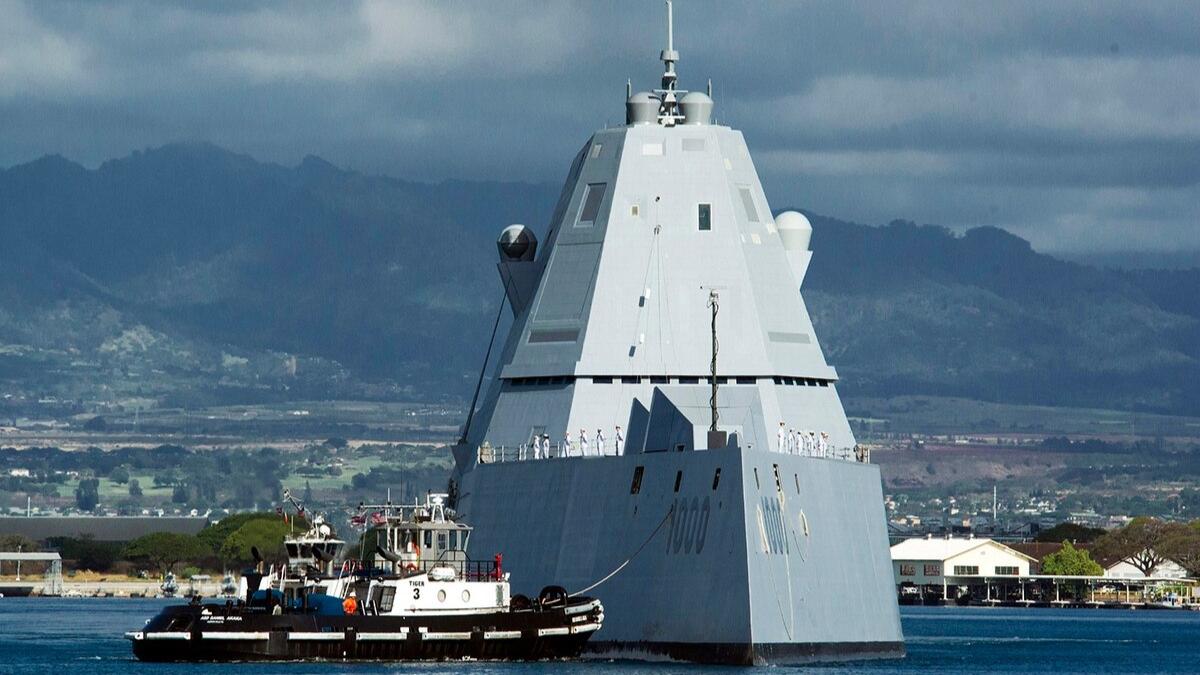 【讲堂538期】详解朱姆沃尔特级驱逐舰,电磁炮、全舰隐身,还有多少黑科技?