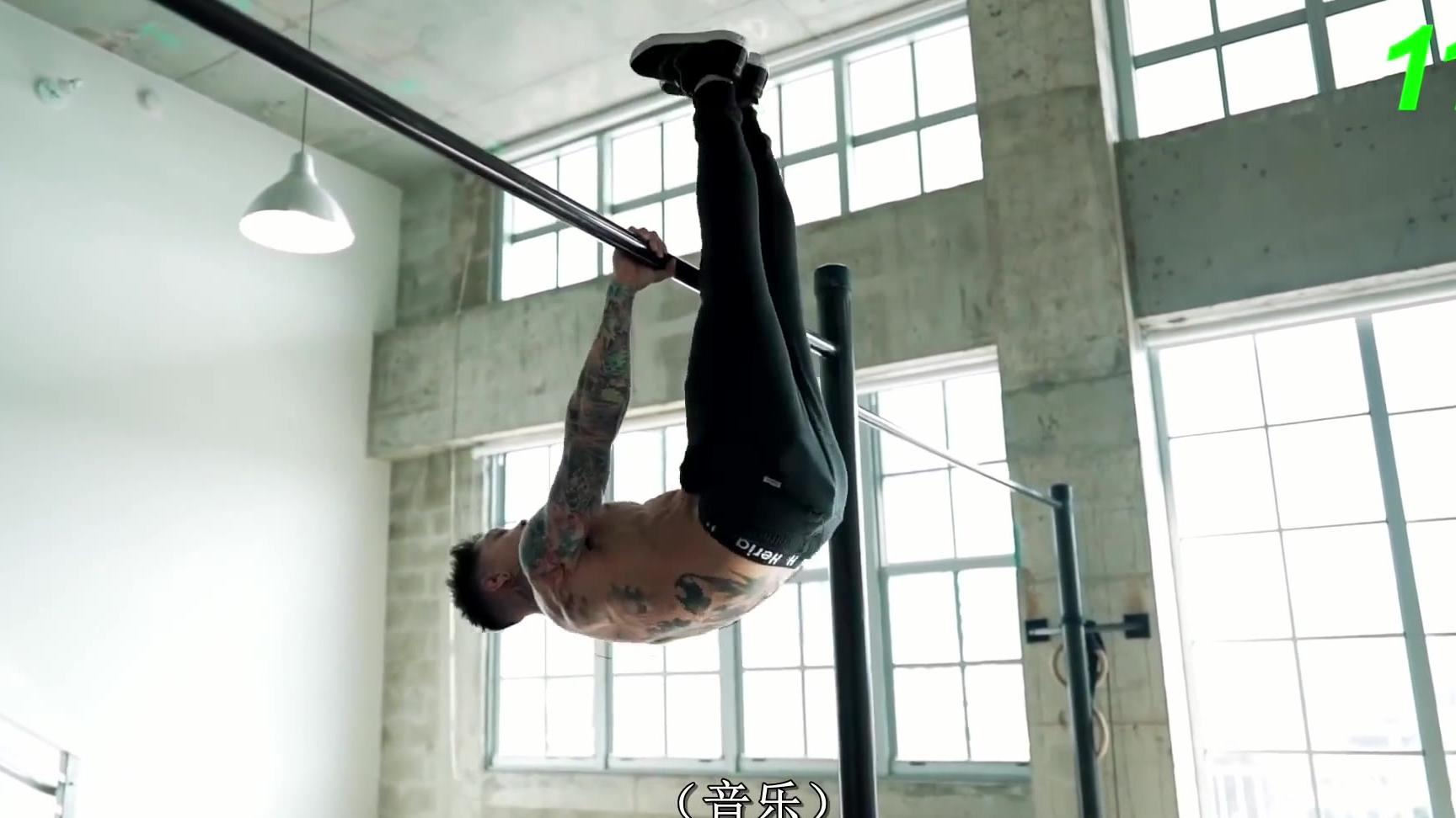 【高能健身】克里斯7分钟刺激全身肌肉训练1080p